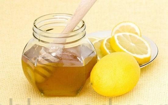 Маска лимонная